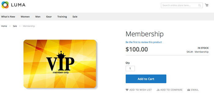 منتج افتراضي Virtual Product على متاجر ماجنتو 2