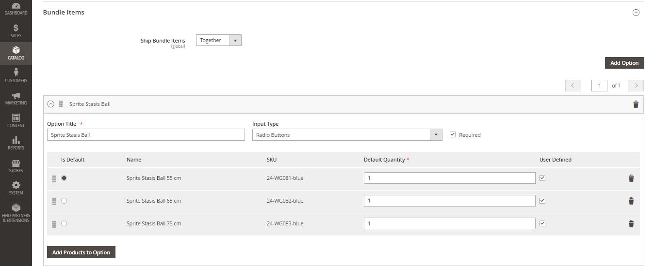 إضافة حزمة منتجات Bundle Product على متجر ماجنتو 2