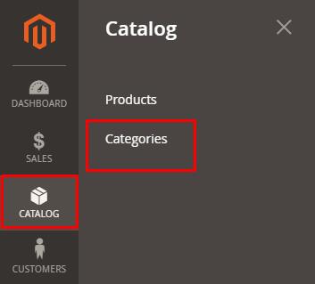 إخفاء الفئات Categories على منصة ماجنتو 2