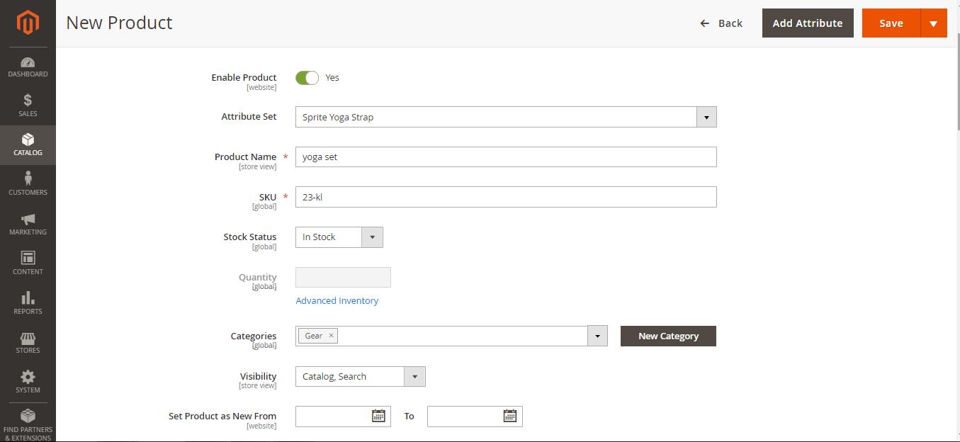 منتج افتراضي Virtual Product على متاجر ماجنتو 2 السعودية