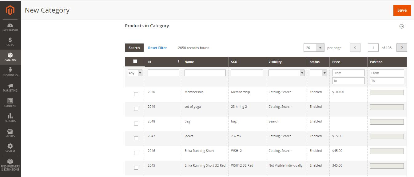 إنشاء الفئة الرئيسية Root Category على متجر ماجنتو 2 السعودية