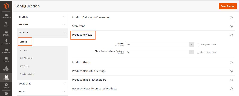 إضافة مراجعة Review على صفحة منتج على ماجنتو 2