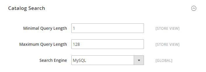 تعيين مربع البحث Catalog Search داخل متجر ماجنتو 2