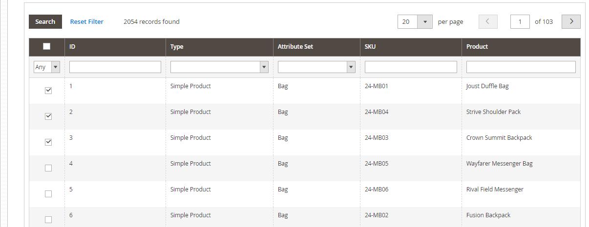 إنشاء قاعدة أسعار Price Rules بأكواد متعددة Multiple SKUs على ماجنتو 2