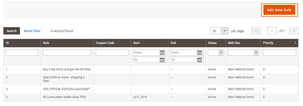 إعداد خصم على الشحن المجانى (Free Shipping Promotion) على ماجنتو 2
