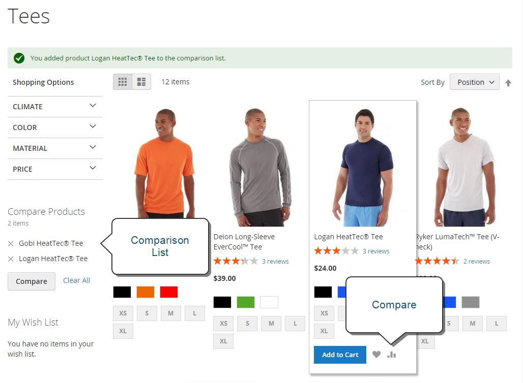 أدوات التسوق (Shopping Tools) على متجر ماجنتو 2
