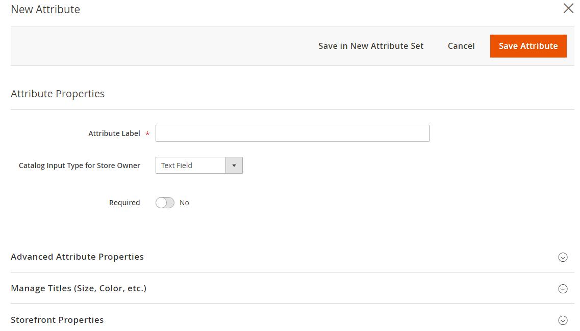 إضافة سمة لمنتج (Product attribute) على متجر ماجنتو 2