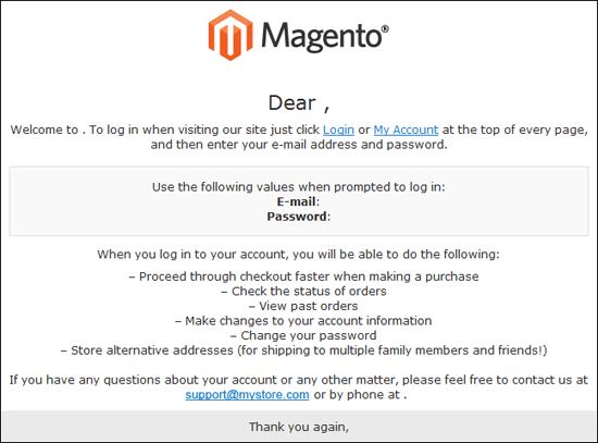 كيفية تغيير شعار البريد الالكترونى Email Logo فى ماجنتو 2
