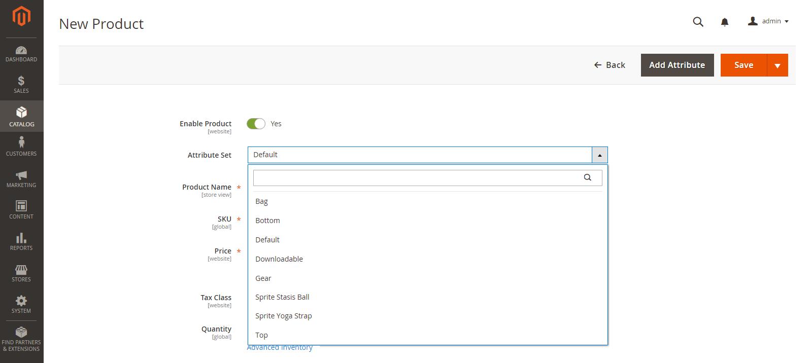 إضافة حزمة منتجات Bundle Product فى متجر ماجنتو 2