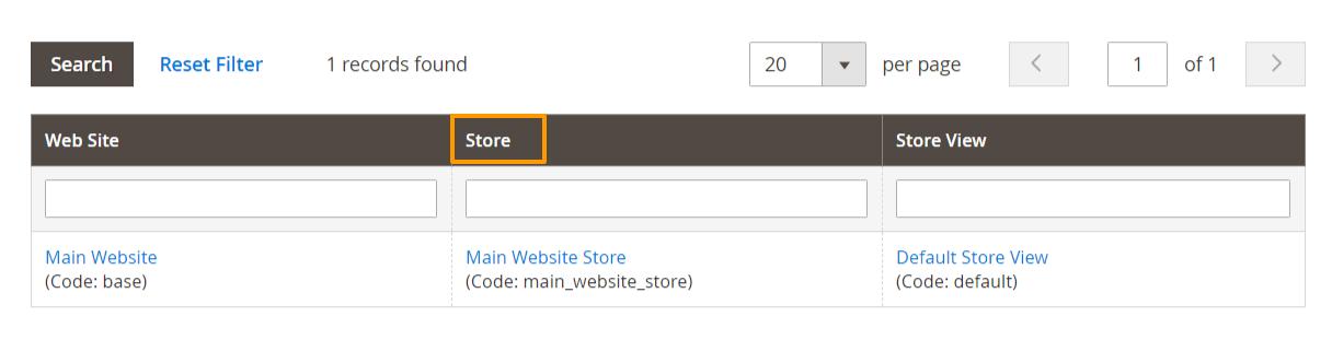 إنشاء فئة رئيسية Root Category على متجر ماجنتو 2