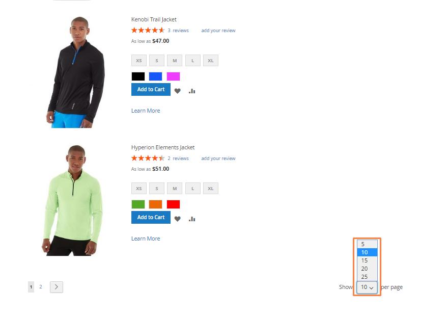 تكوين / تهيئة قوائم المنتجات Product Listings فى ماجنتو 2