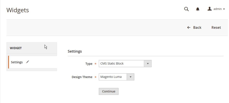 إنشاء عنصر واجهة مستخدم جديدة (New Widget) فى متجر ماجنتو 2
