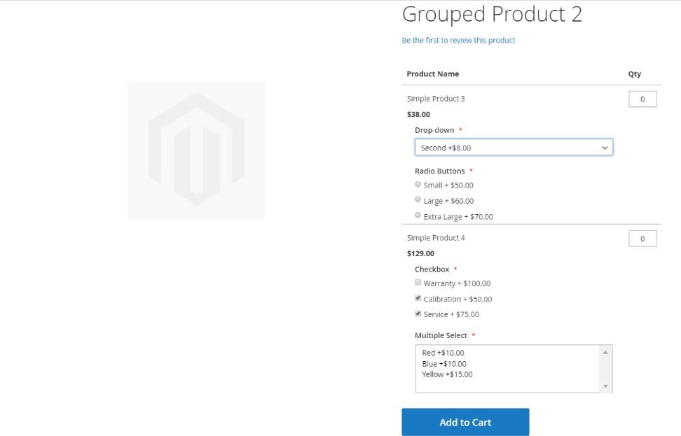 تكوين خيارات مخصصة لمنتج Customizable Options فى متجر ماجنتو 2