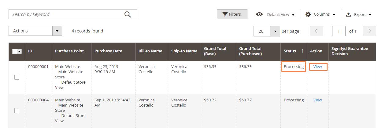 إنشاء / إعداد فاتورة لطلب شراء (Create an Invoice) على ماجنتو 2