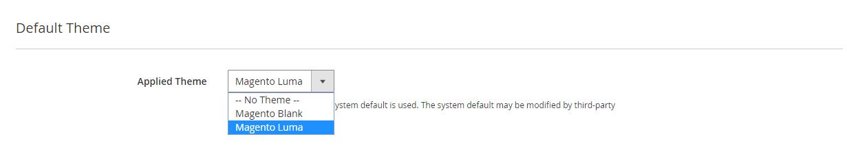 تهيئة إعدادات التصميم (Design Configuration) فى متجر ماجنتو 2