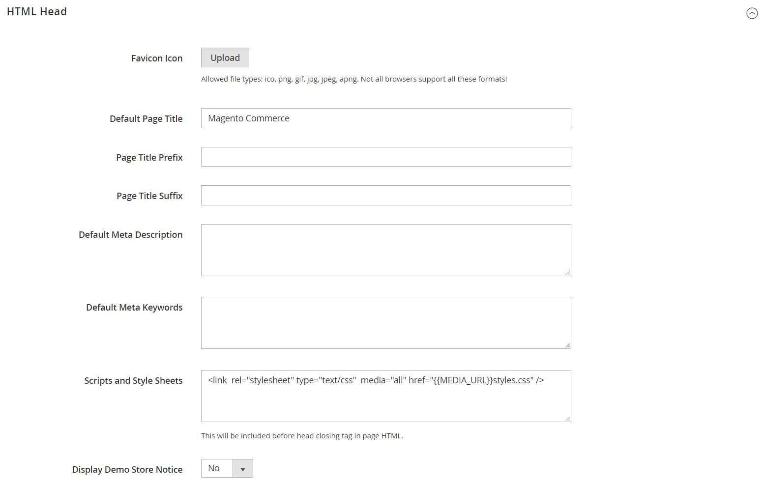 تغيير/ إضافة أيقونة Favicon لمتجرك على ماجنتو 2