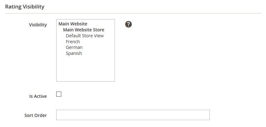 إضافة تقييم لمنتج Rating فى متجر ماجنتو 2