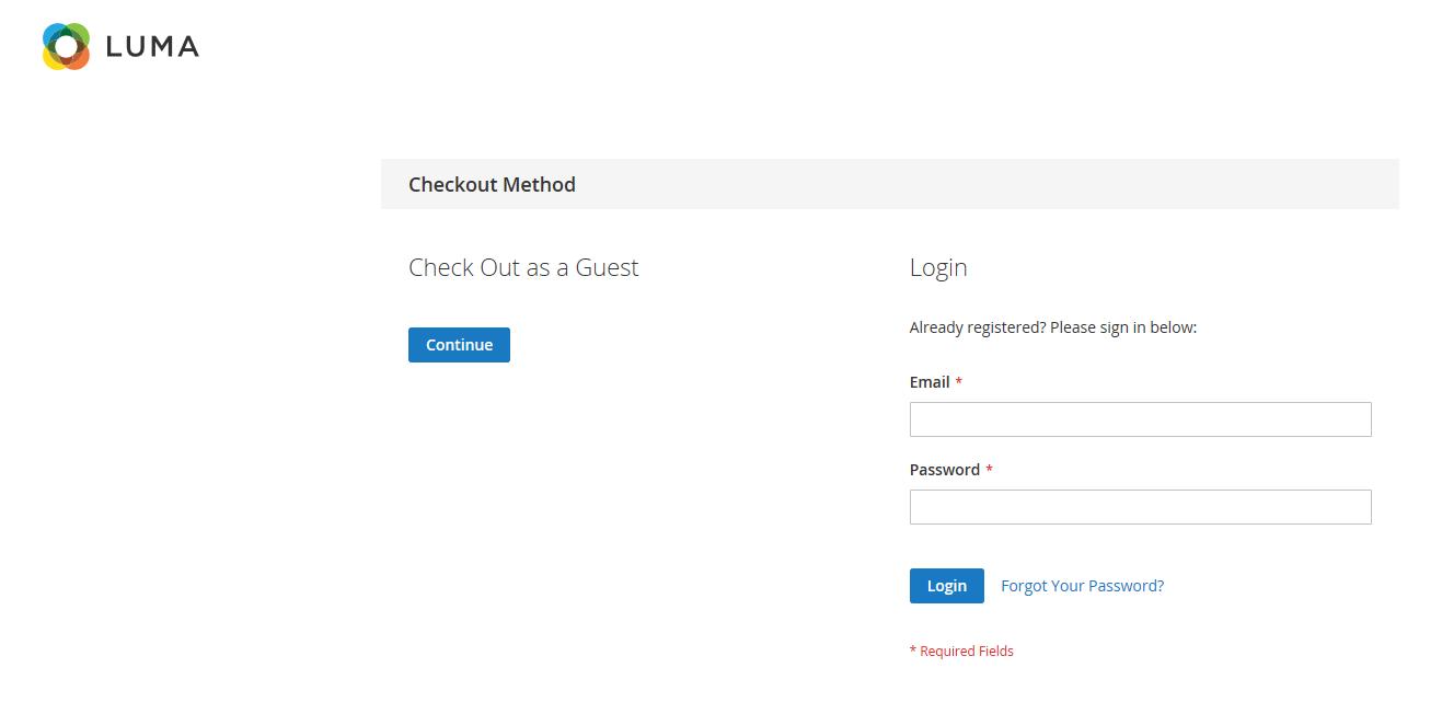 إلغاء إمكانية انهاء الطلب للزوار Guest Checkout فى متجرك على ماجنتو 2