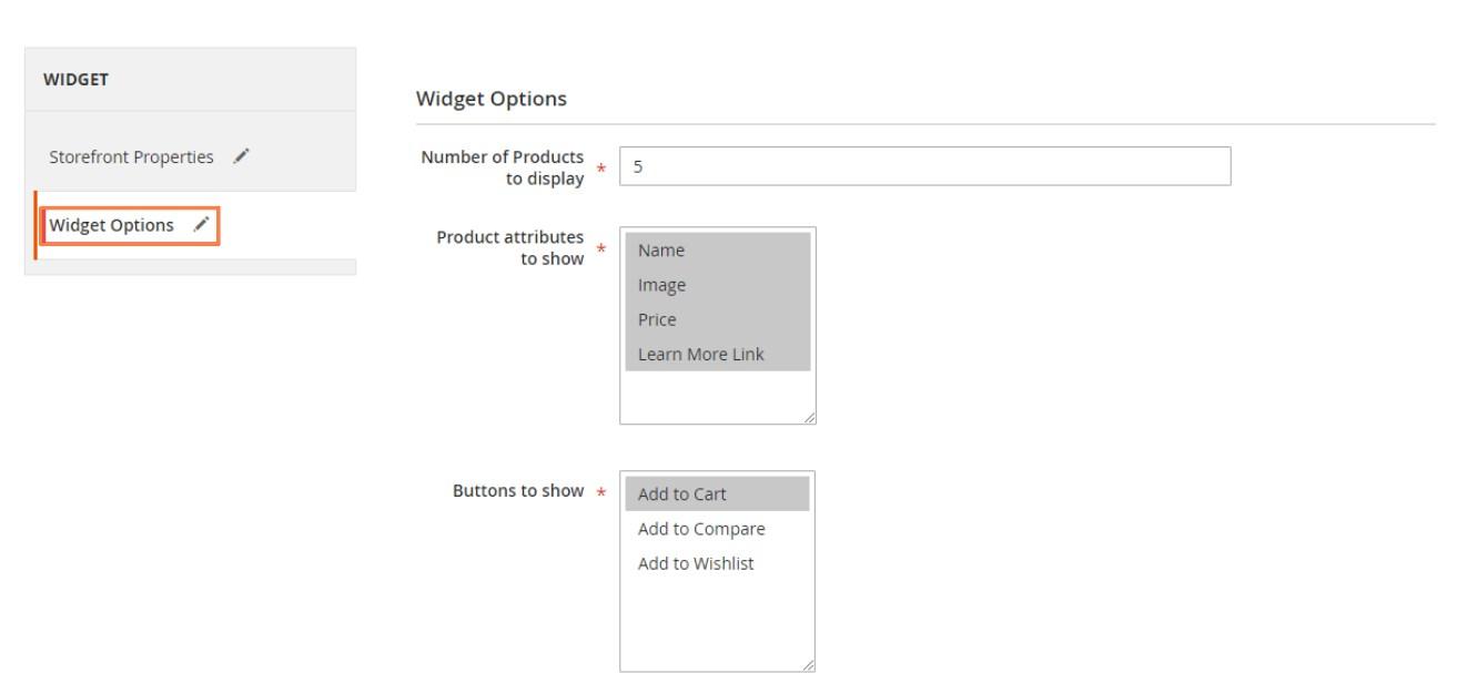 إظهار واجهة منتجات تم مشاهدتها مؤخرا (Recently Viewed Products) على صفحات ماجنتو 2