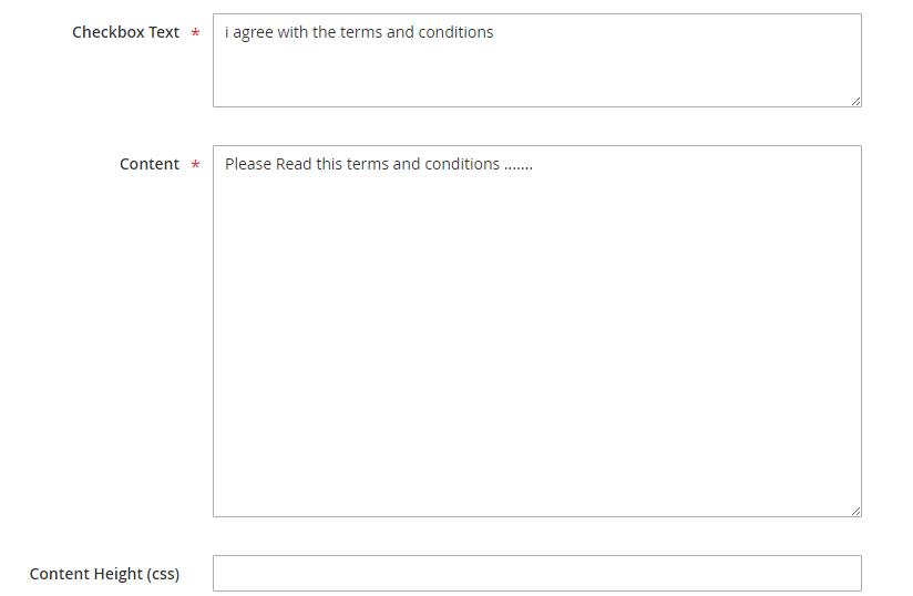 تكوين / تهيئة شروط واحكام البيع (Terms and Conditions) لمتجرك على ماجنتو 2