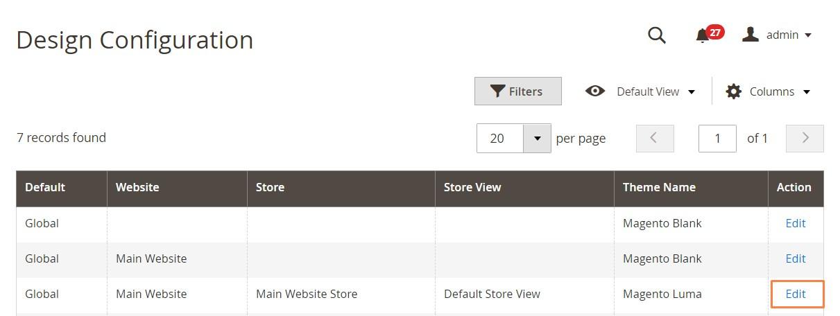 إضافة ملاحظة حقوق النشر (Copyright Notice) فى متجر ماجنتو 2