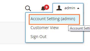 تعديل معلومات حساب المشرف (Admin Account Information) على ماجنتو 2