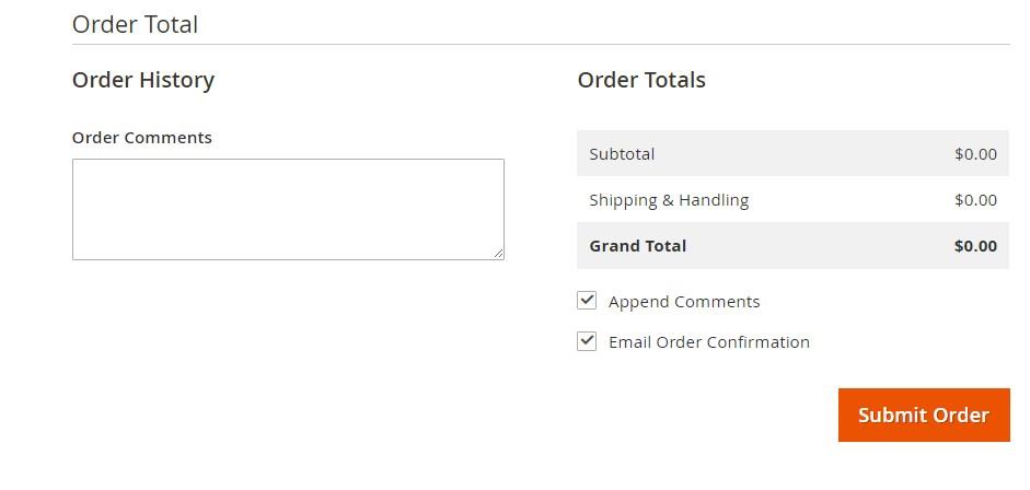 إضافة طلب شراء جديد (Creating an Order) فى متجر ماجنتو 2