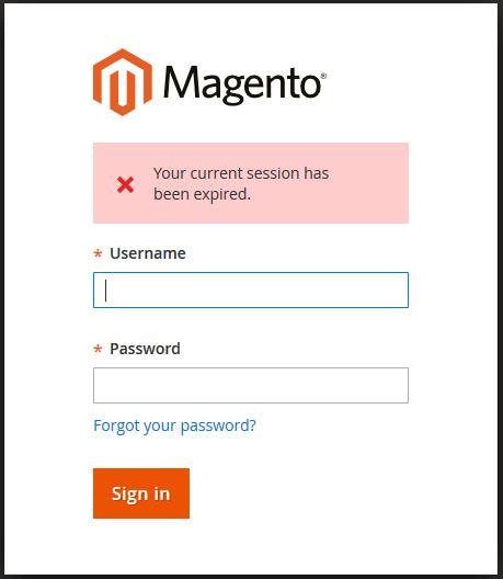 ضبط مدة جلسة عمل المشرف (Admin Session Lifetime) فى لوحة تحكم ماجنتو 2