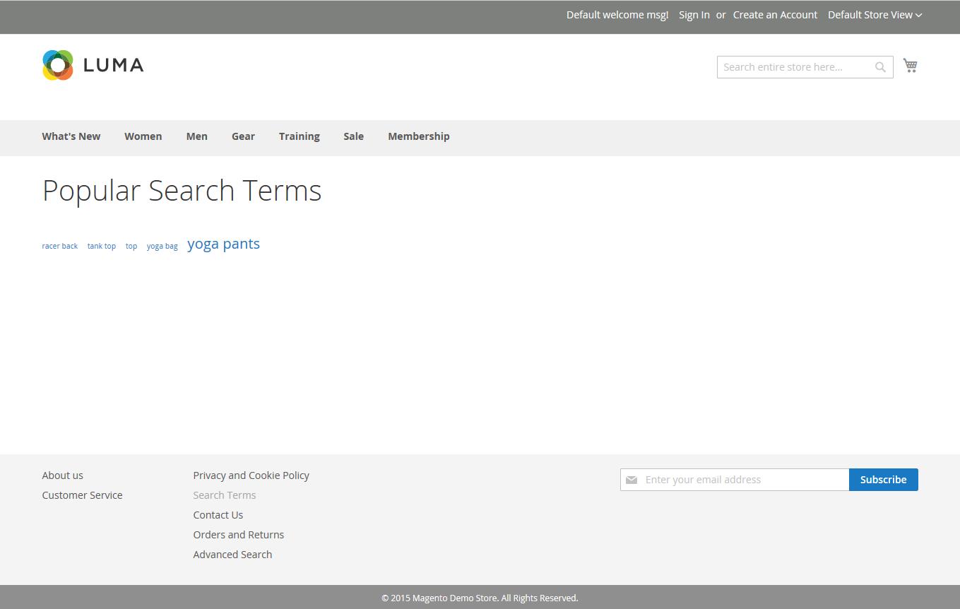 كلمات البحث (Search Terms) فى متاجر ماجنتو 2