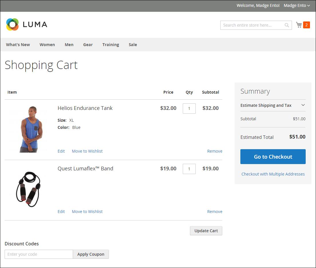 تكوين / تهيئة الصور المصغرة لسلة التسوق (Cart Thumbnails) فى متجر ماجنتو 2