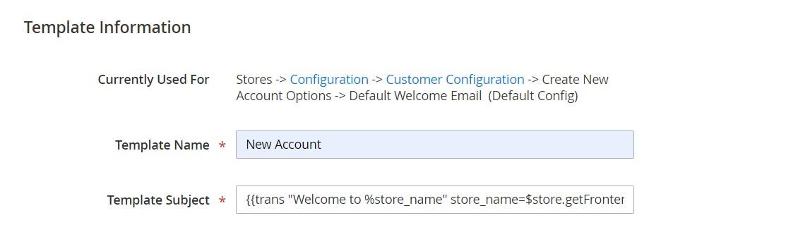 تخصيص قالب رسالة البريد الالكترونى (Email Message Template) فى ماجنتو 2