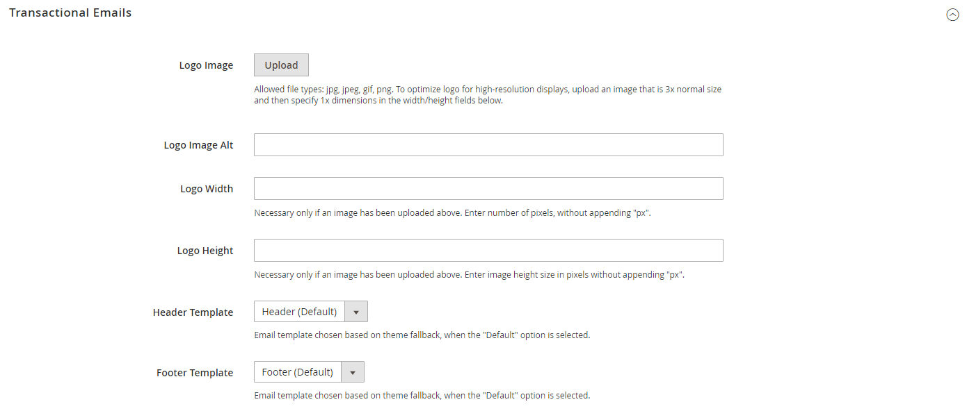 تهيئة / تكوين قوالب البريد الالكترونى (Email Templates) فى متجر ماجنتو 2