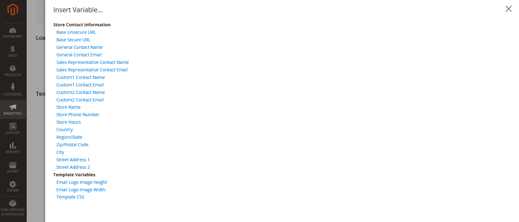 تكوين قالب رأس البريد الالكترونى (Email Header Template ) فى ماجنتو 2