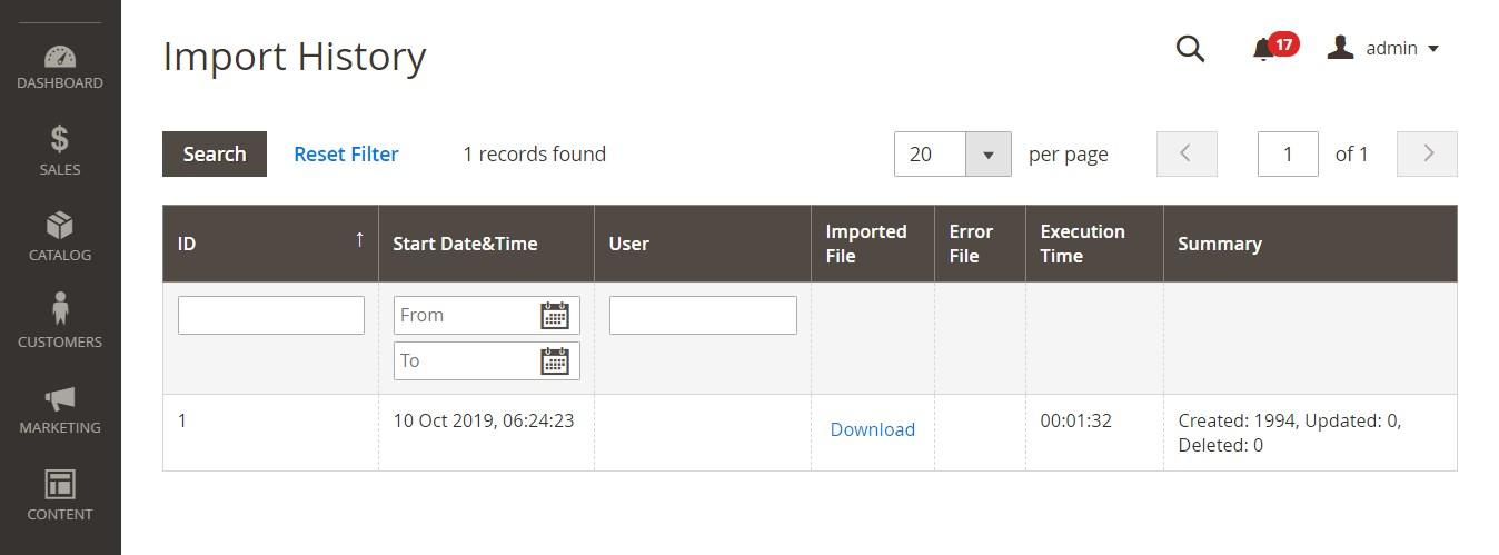تصدير البيانات (Export Data) فى ماجنتو 2
