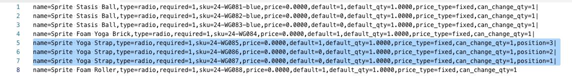 استيراد حزم المنتجات (Importing Bundle Products) فى ماجنتو 2