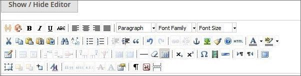 استخدام المحرر (The Editor) فى نظام ماجنتو 2