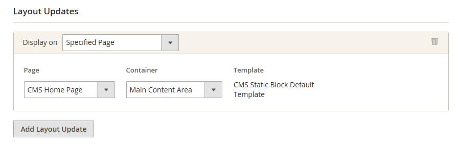 وضع كتلة محتوى Block باستخدام الWidget فى متجر ماجنتو 2