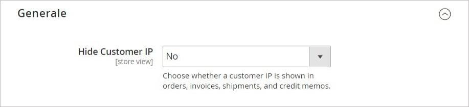 تغيير إعدادات عنوان IP للعميل (Customer IP Address)