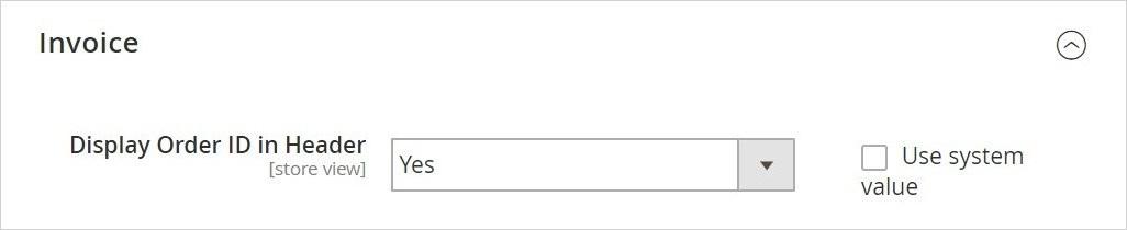 تغيير إعدادات الرقم التعريفى لطلب الشراء (Order ID)