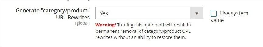 إعادة التوجيه التلقائى للautomatic URL redirects) URL) فى ماجنتو 2