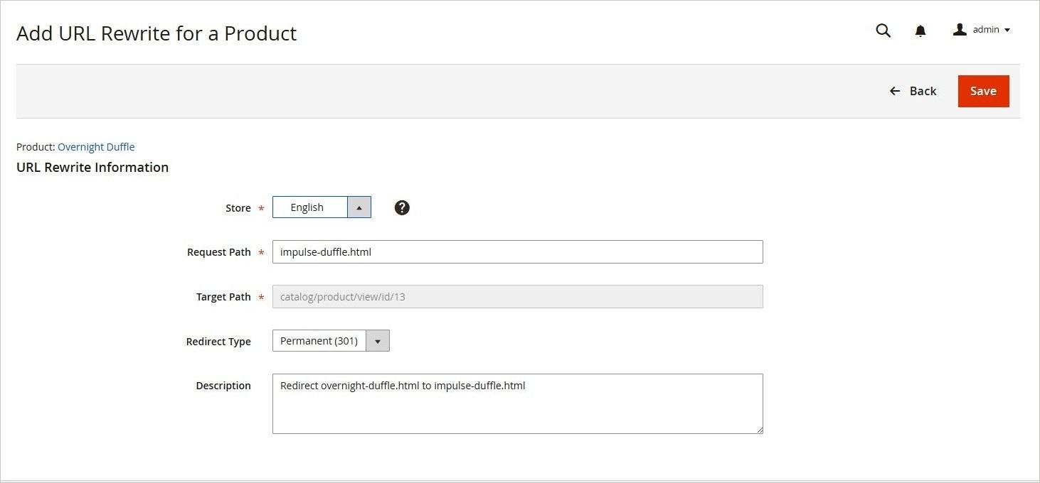 إعادة كتابة عنوان URL للمنتج (Product Rewrite) فى ماجنتو 2