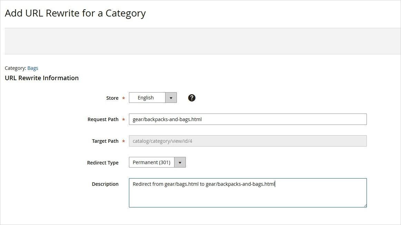 إعادة كتابة عنوان URL للفئة (Category Rewrites) فى ماجنتو 2