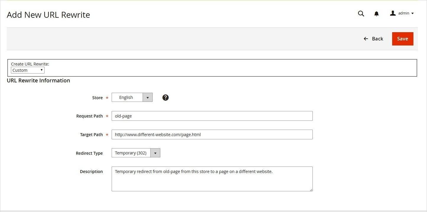 إعادة كتابة مخصصة لعنوان Custom URL Rewrites) URL) على ماجنتو 2