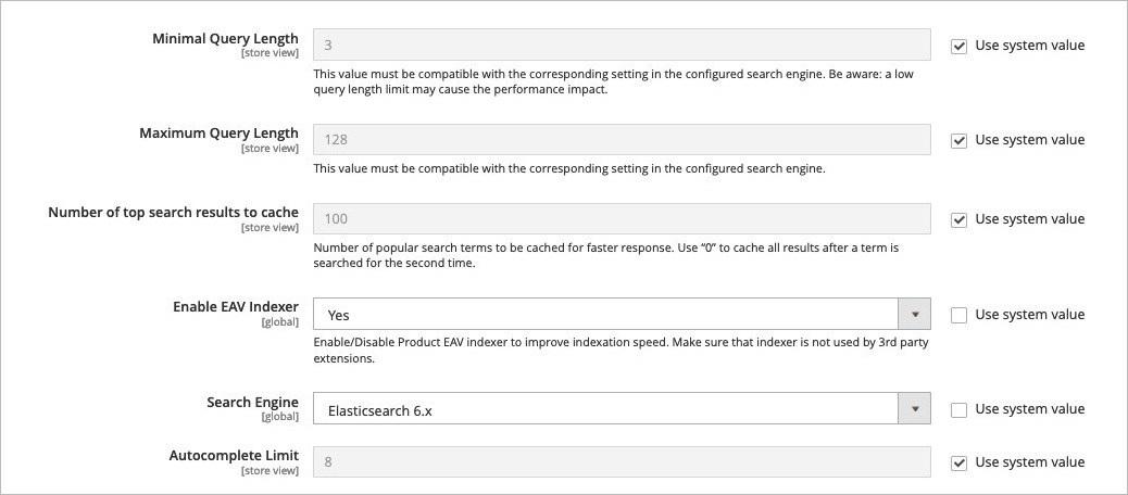 تهيئة إعدادات Elasticsearch لمتجرك على ماجنتو 2