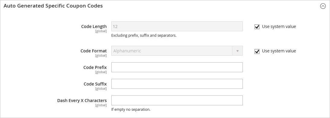 إعدادات تكوين العروض الترويجية (Promotions Configuration) على ماجنتو 2
