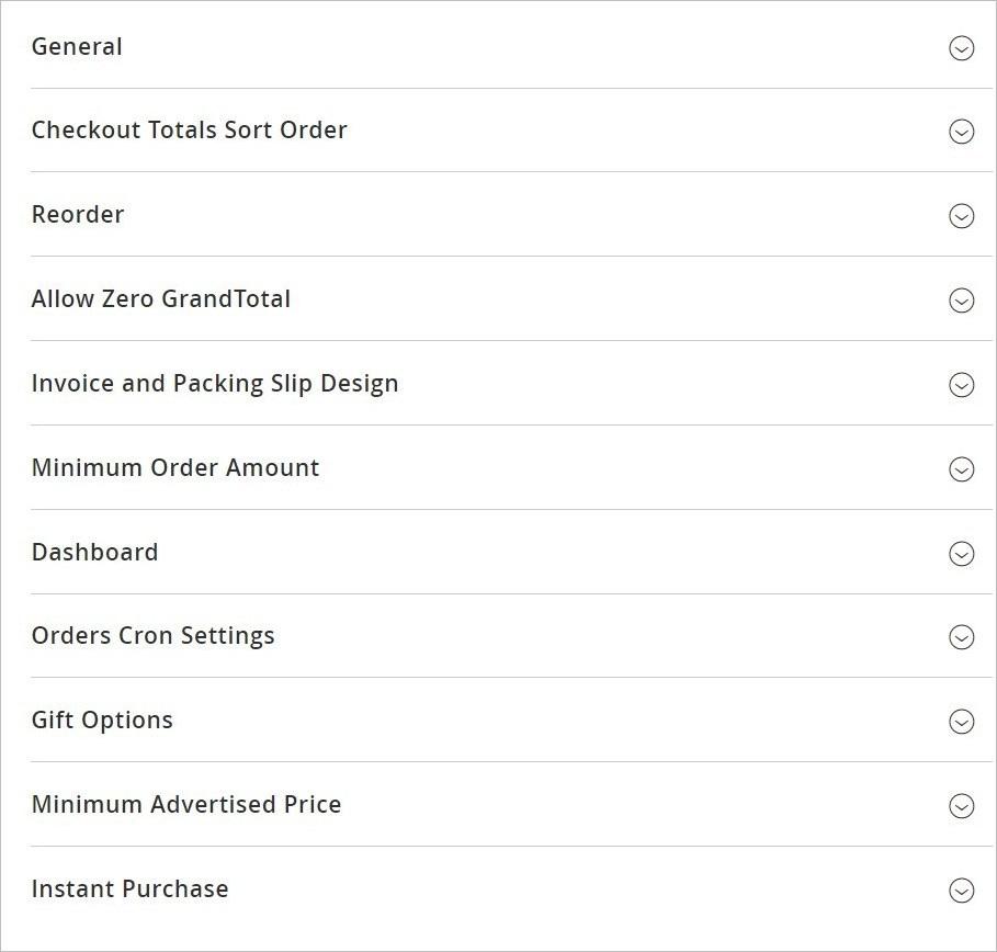 إعدادات تكوين المبيعات (Sales Configuration) فى ماجنتو 2