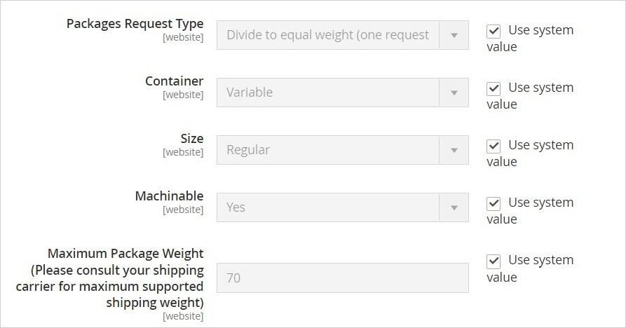 إعدادات تكوين طرق الشحن (Shipping Methods) فى ماجنتو 2