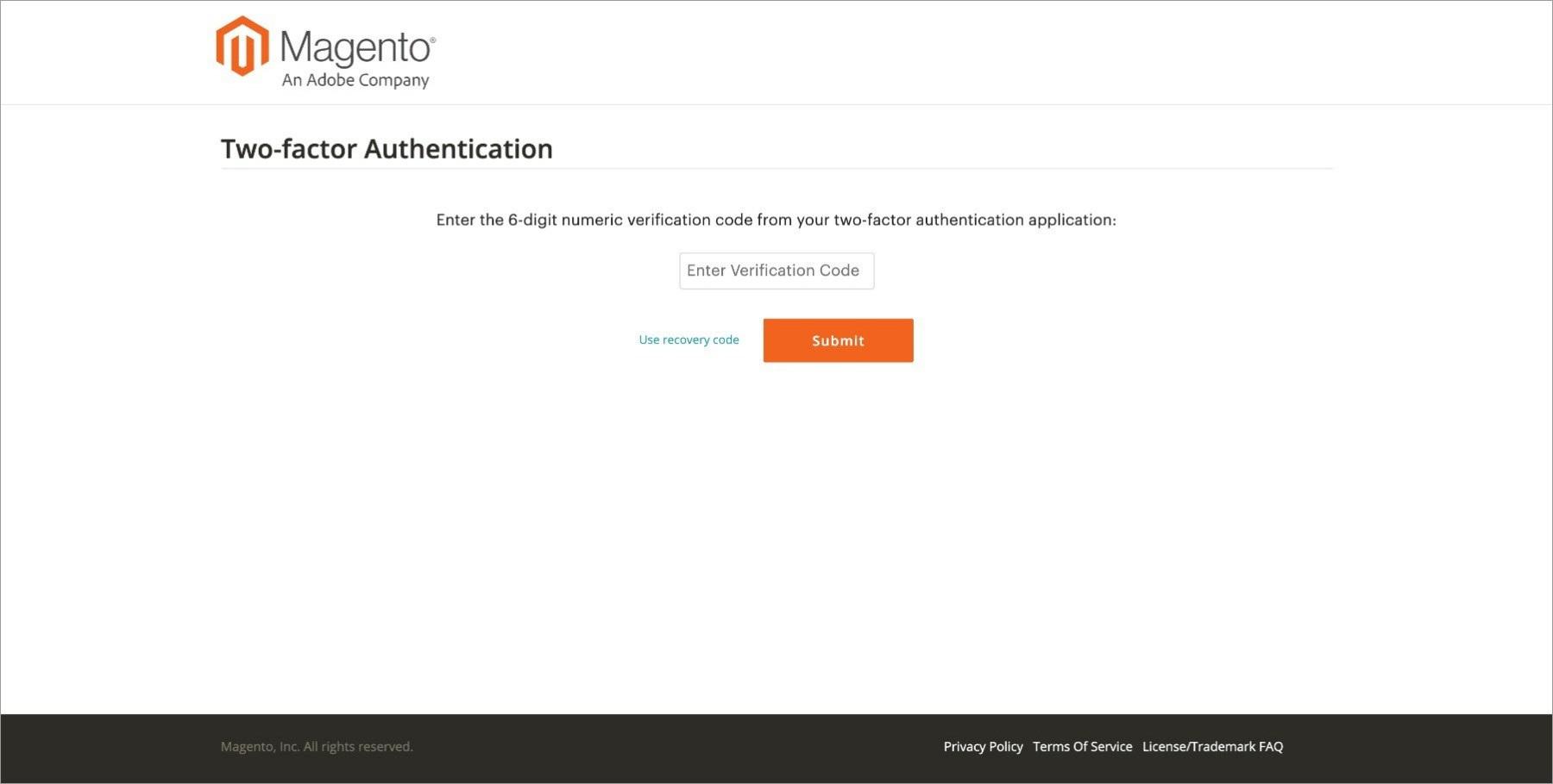 تأمين حساب ماجنتو الخاص بك - Securing Your Magento Account